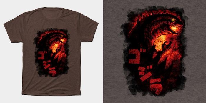 The King Reborn - Godzilla T-Shirt