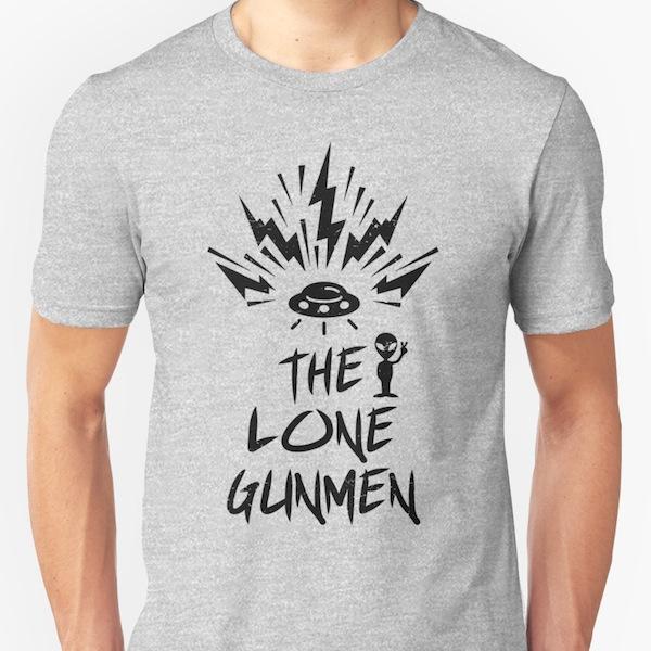 The Lone Gunmen XFiles Tees