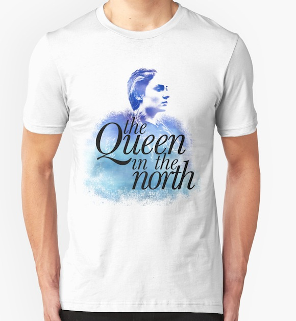 The Queen in the North - Game of Thrones T-Shirts