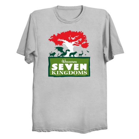 The Seven Kingdoms - Parody Game of Thrones T-Shirts