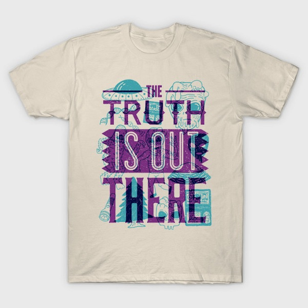 The Truth is Out There X Files T-Shirt