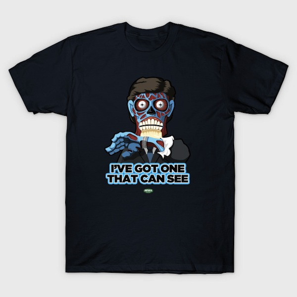 They Live Alien T-Shirt
