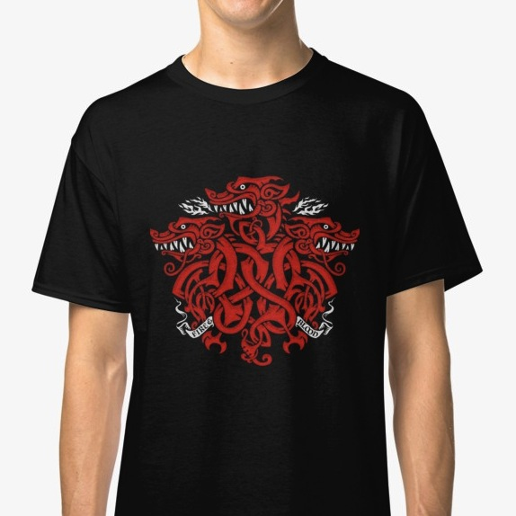 Triple headed dragon - Game of Thrones Tee