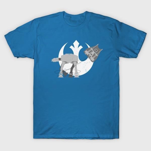 Walker Attack - Minimalist T-Shirt