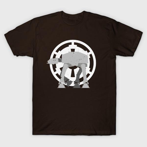 Walker - Minimalist Star Wars T-Shirts
