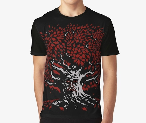 Winterfell Weirwood - Game Of Thrones T-Shirts