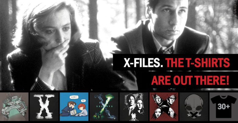 X-Files T-Shirts Collection by Indie Artists