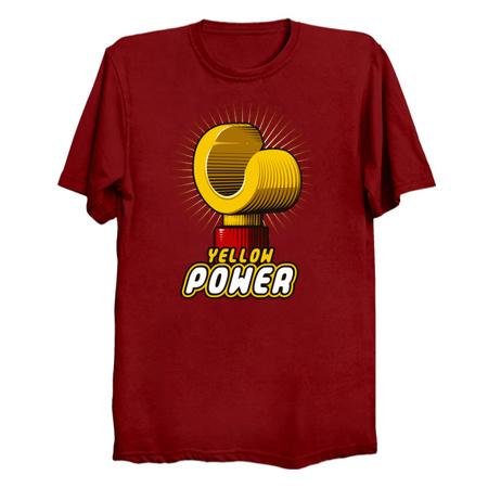 Yellow Power T-Shirts