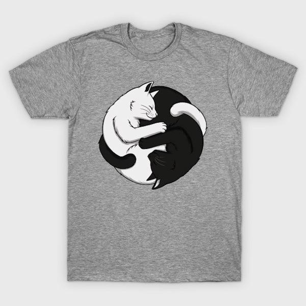 Yin Yang Cats - Tees and Tanks