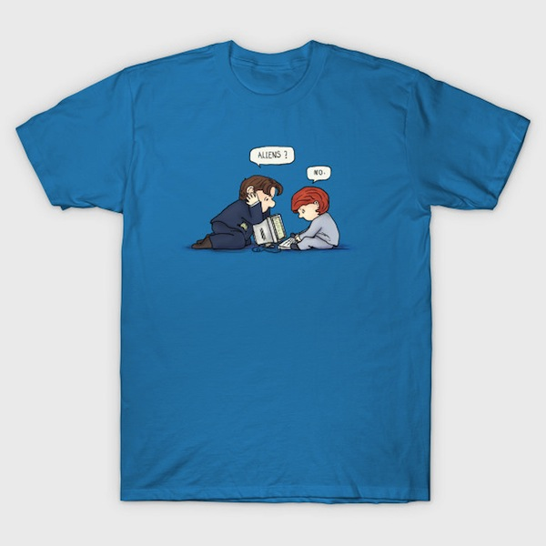aliens? X Files T-Shirt