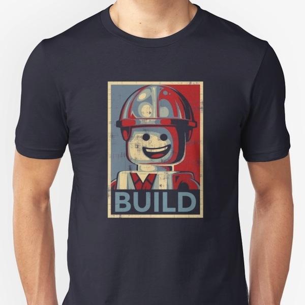 Build - Lego T-Shirts