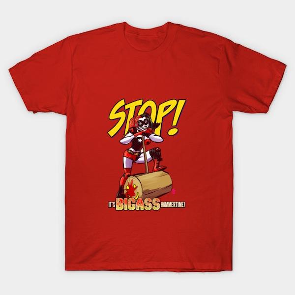 it's Big@ss hammertime! T-Shirt