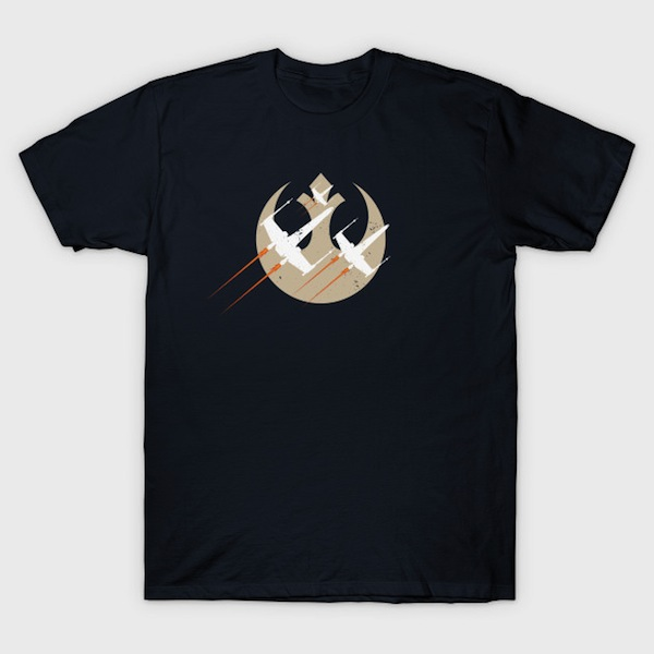 Wing Fighters - Star Wars T-Shirt