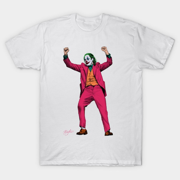 Joker T-Shirt - by KregFranco