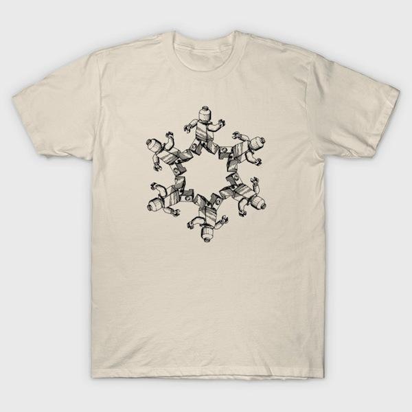 Lego Mandala T-Shirts