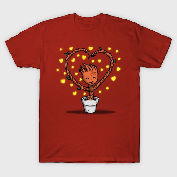 Potted Valentine Guardian T-Shirt