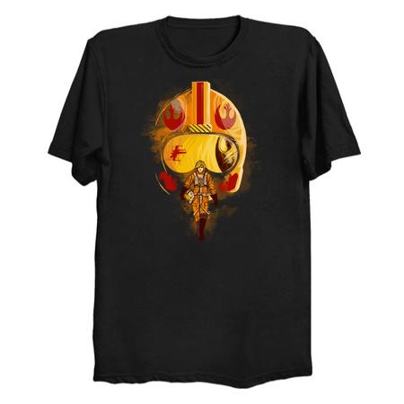 Rebel - Luke Skywalker T-Shirts