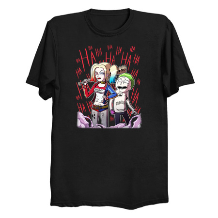 Suicide Portal - Mad Love mashup T-Shirt