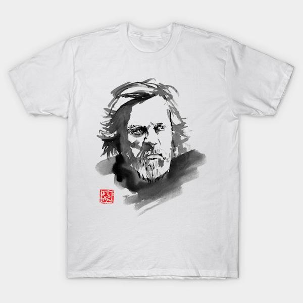Indie Art Luke Skywalker T-Shirts