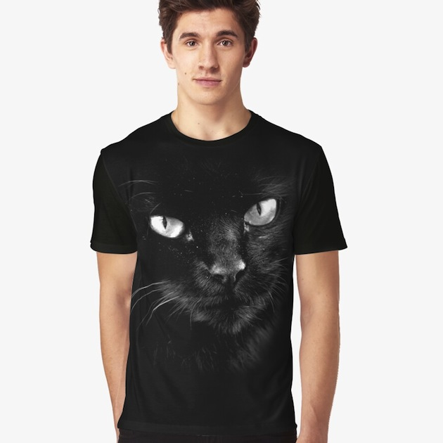 Black Cats Rule T-Shirts - Original 2013 Photographic Print