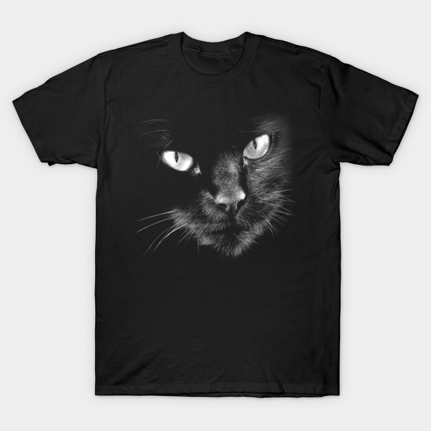 Black Cats Rule - Photographic Black Cat T-Shirts: 2019