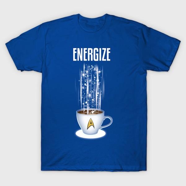 Energize Star Trek T-Shirt