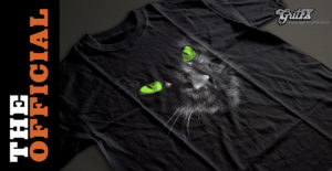 Hello Darkness Black Cat T-Shirts