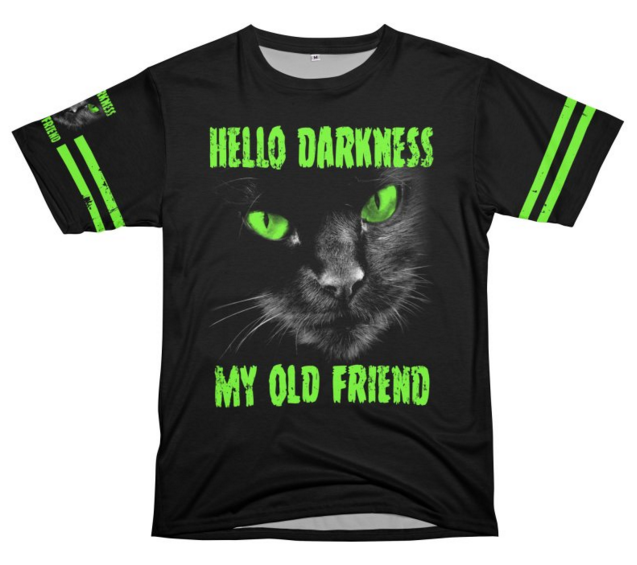 Hello Darkness My Old Friend Cut & Sew T-Shirts