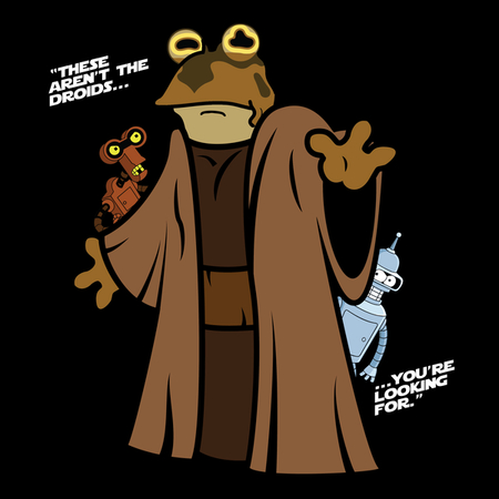 Jedi Toad - Funny Star Wars Shirt