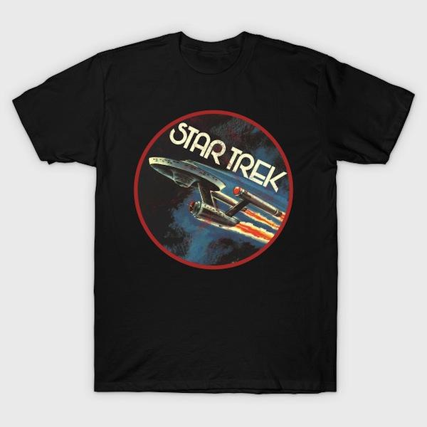 Star Trek Enterprise Vintage T-Shirt