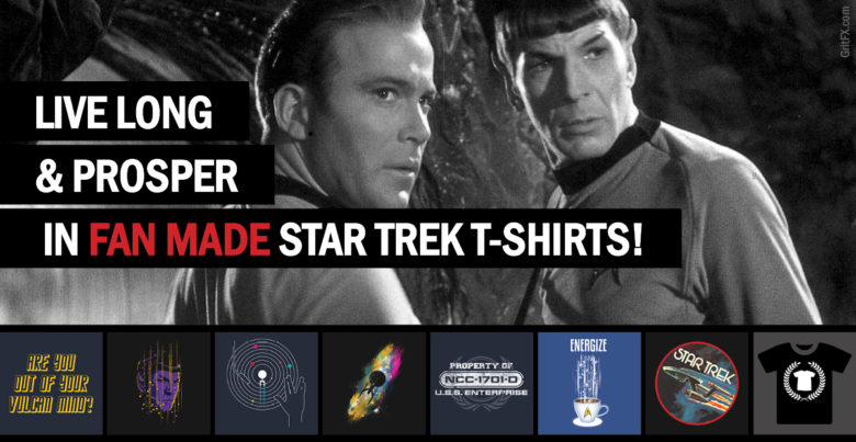 Star Trek T-Shirts by Indie Artists