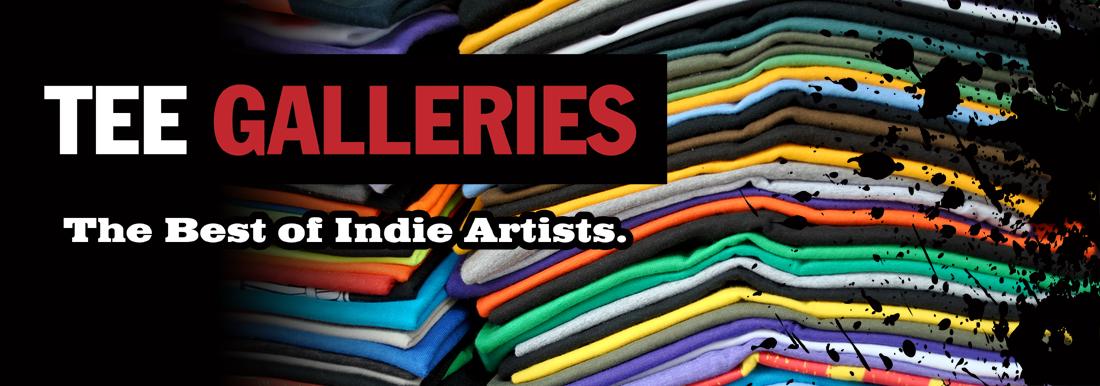 Indie Apparel Movie & Culture T-Shirt Galleries
