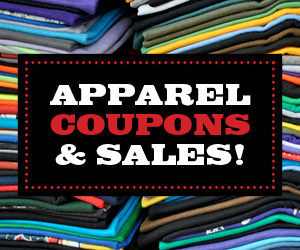 Apparel Coupons & Sales