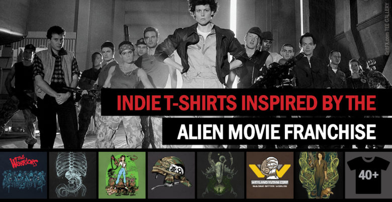 Aliens Movie T-Shirts