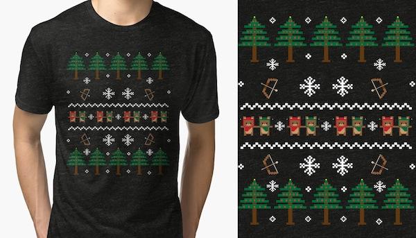 An Ewok Christmas T-Shirt – by loofaness