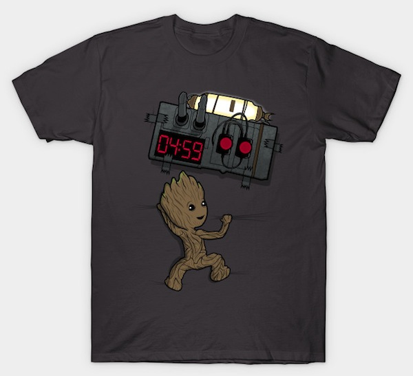 BOMB in your chest! – Baby Groot Tees
