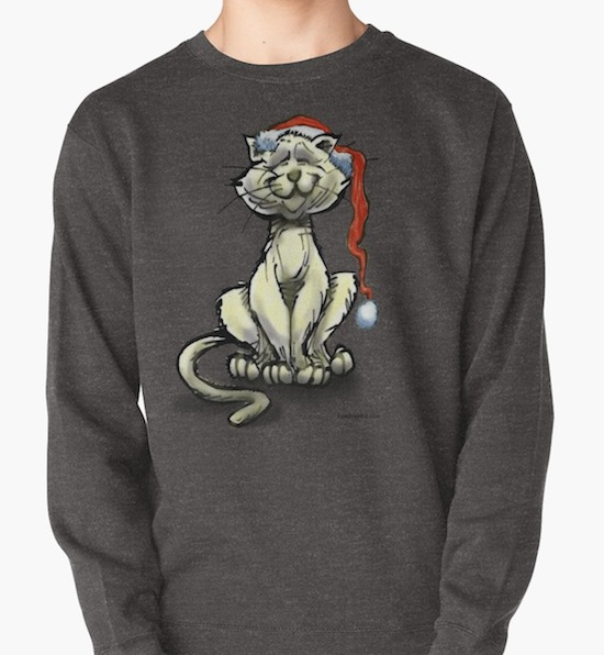Christmas Cat Sweater – by Kevin Middleton