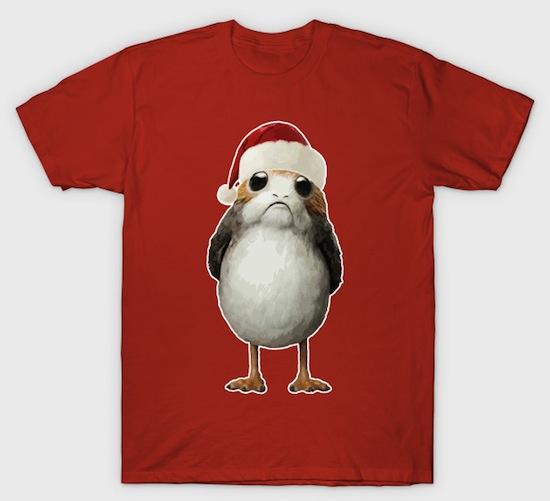 Christmas Porg - Star Wars Christmas T-Shirts