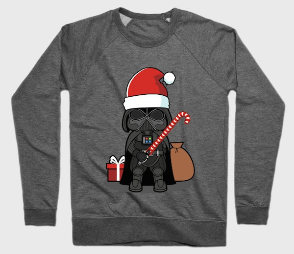 Christmas Vader Chibi - Star Wars Sweaters