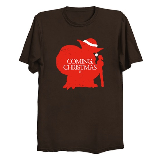 Coming, Christmas is - Star Wars Xmas Tee