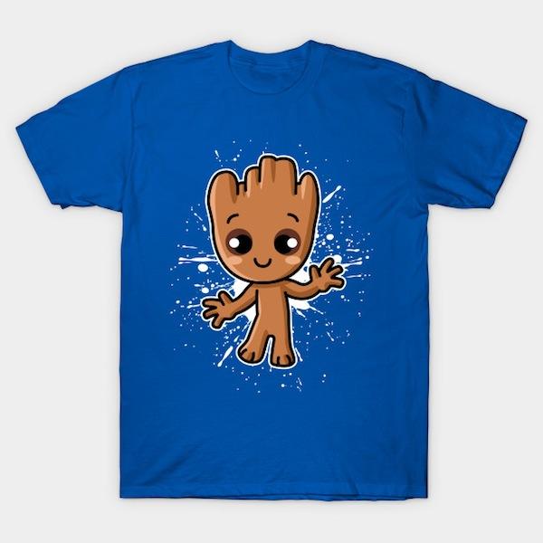 Cute Baby Guardian – Baby Groot Tees