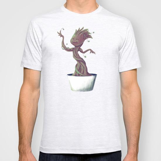 Dancing Groot T-Shirts