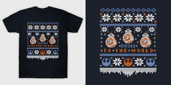 Droid to the World – BB-8 Star Wars Tees