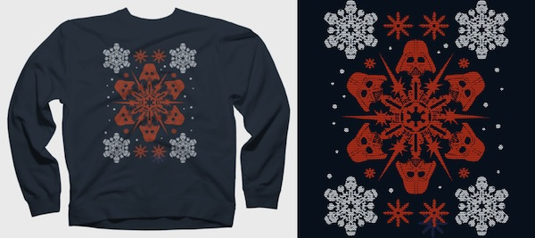 Empire Snowflakes - Star Wars Christmas Sweaters