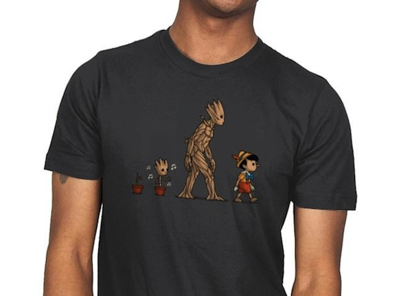 Galactic Evolution - Groot Tee