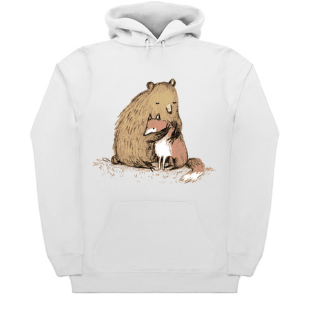 Grizzly Hugs - Bear Hoodies by Sophie Corrigan