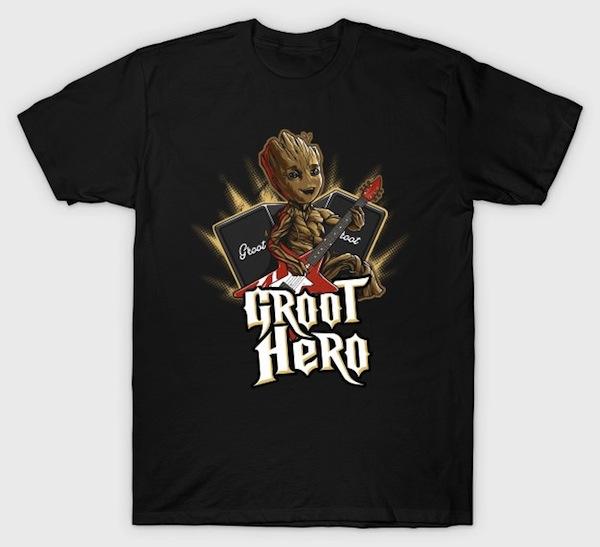 Groot Hero - Musical Groot Tee