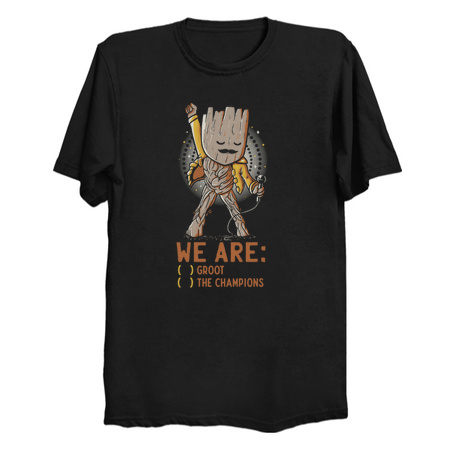 Groot-The Champions T-Shirts