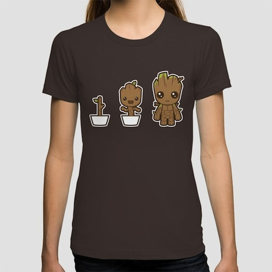 Grow - Baby Groot T-Shirts