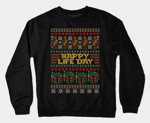 Happy Life Day - Star Wars Xmas Tee